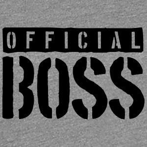 Logo Design Official Boss T-Shirts - Frauen Premium T-Shirt