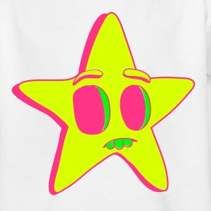 Neon Star - Kids' T-Shirt