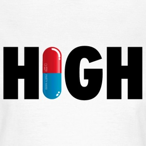 Grappige i love high party drugs ecstacy xtc T-shirts - Vrouwen T-shirt