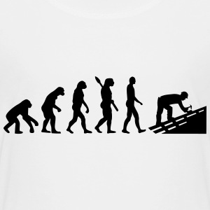 Evolution Dachdecker T-Shirts - Kinder Premium T-Shirt