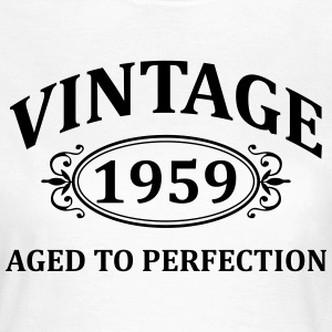 Vintage 1959 Aged to Perfection T-Shirts - Women's T-Shirt