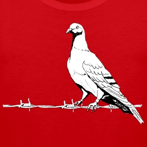 Peace doves shirt, - Men's Premium Tank Top