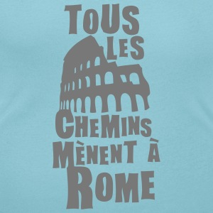 tous les chemins menent rome expression Tee shirts - T-shirt col rond U Femme