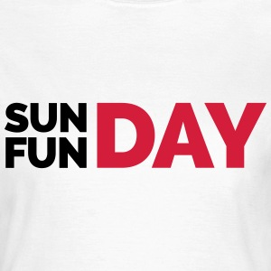 Sunday Funday  T-shirts - T-shirt dam
