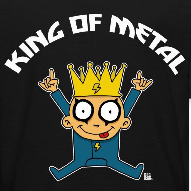 T-shirt King of Metal