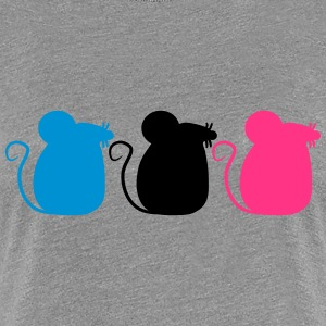 3 Party Mice T-Shirts - Women's Premium T-Shirt