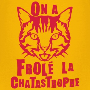 frole chatastrophe chat expression Tee shirts - T-shirt Premium Enfant