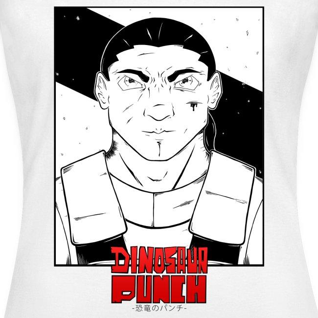 T-shirt Dinosaur Punch Eshyl Femme