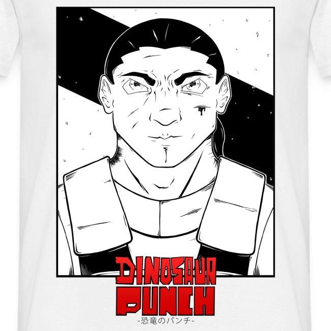 T-shirt Dinosaur Punch Eshyl Homme