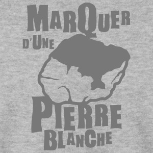 marquer pierre blanche expression Sweat-shirts - Sweat-shirt Homme