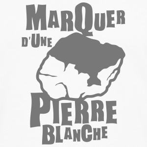 marquer pierre blanche expression Manches longues - T-shirt manches longues Premium Homme