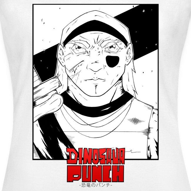 T-shirt Dinosaur Punch Shyon Femme