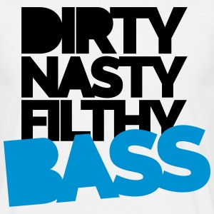 Dirty Bass T-shirts - Mannen T-shirt