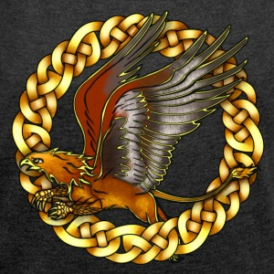 Golden Gryphon T-Shirts - Women's T-shirt with rolled up sleeves