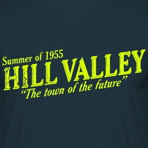 Hill Valley Town of the Future! T-Shirts - Men's T-Shirt