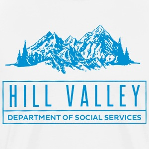 Hill Valley Department of Social Services T-Shirts - Men's Premium T-Shirt