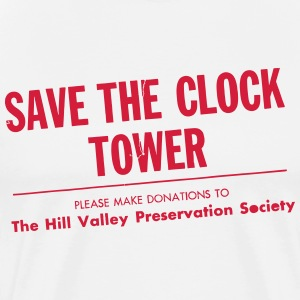 SAVE THE CLOCK TOWER T-Shirts - Men's Premium T-Shirt