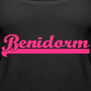 Benidorm Holiday Spain Mallorca  Tops - Women's Premium Tank Top