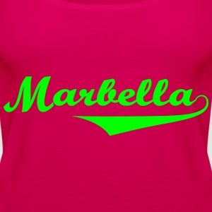 Marbella sexy Girls holiday Spain 2014 Tops - Camiseta de tirantes premium mujer