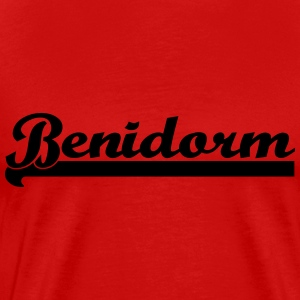 Benidorm Holiday Spain Mallorca  T-Shirts - Men's Premium T-Shirt