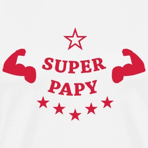 Super Papy Tee shirts - T-shirt Premium Homme