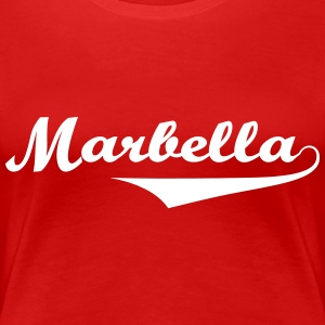 Marbella sexy Girls holiday Spain 2014 T-Shirts - Women's Premium T-Shirt