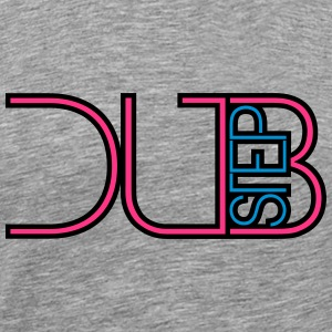 Dubstep Party DJ Text Logo T-Shirts - Männer Premium T-Shirt