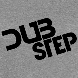 Dubstep Party Logo Design T-shirts - Premium-T-shirt dam