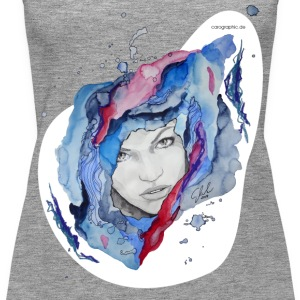 carographic, Illustration - Frauen Premium Tank Top