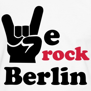 We rock Berlin - T-Shirt - Männer Kontrast-T-Shirt