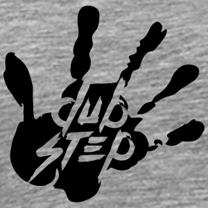 Dubstep handprint design T-Shirts - Men's Premium T-Shirt