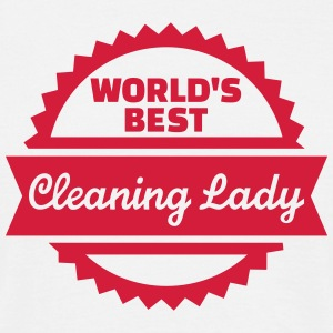 World's best cleaning lady T-Shirts - Männer T-Shirt