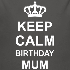 keep_calm_birthday_mum_g1 Sweaters - Baby bio-rompertje met lange mouwen