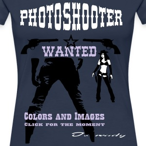 Photoshooter_Girl_1 T-Shirts - Frauen Premium T-Shirt