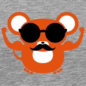 Hipster Mouse | Swag Shirt T-Shirts - Men's Premium T-Shirt