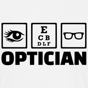 Optician T-Shirts - Männer T-Shirt