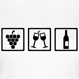 Wein T-Shirts - Frauen T-Shirt