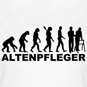 Evolution Altenpfleger T-Shirts - Frauen T-Shirt