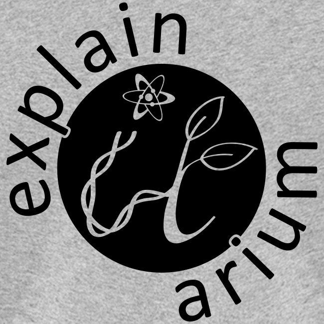 Explain-It-Arium - schwarzes Logo