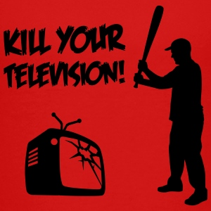 Kill Your Television / Gegen Mediale Verdummung T-Shirts - Teenager Premium T-Shirt