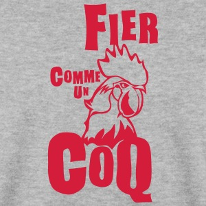 fier comme coq expression Sweat-shirts - Sweat-shirt Homme