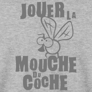 jouer mouche coche expression Sweat-shirts - Sweat-shirt Homme