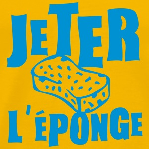 jeter eponge expression Tee shirts - T-shirt Premium Homme