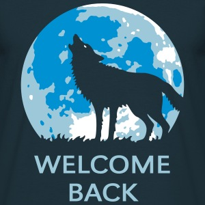 Welcome Back (Wolf / 3C) T-Shirts - Men's T-Shirt
