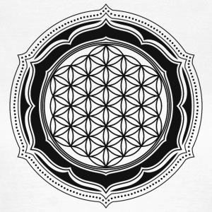 Flower of Life, Energy Symbol, Sacred Geometry T-Shirts - Frauen T-Shirt