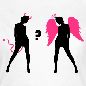 Angel Devil Sexy Girls Demon Ange  T-Shirts - Women's T-Shirt