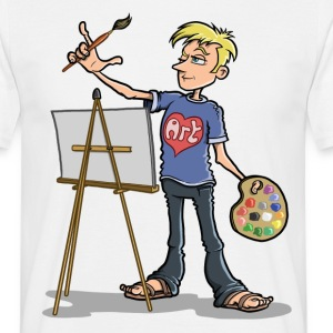 Artist - Male T-Shirts - Men's T-Shirt