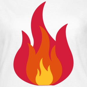Feuer, Flammen, Fire, Flames  T-Shirts - Frauen T-Shirt