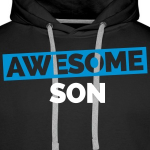 Awesome Son Gensere - Premium hettegenser for menn