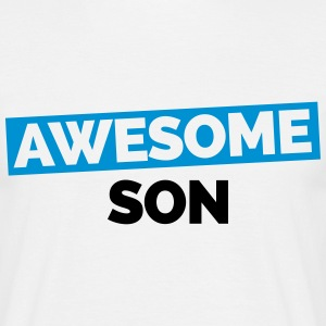 Awesome Son T-shirts - Mannen T-shirt